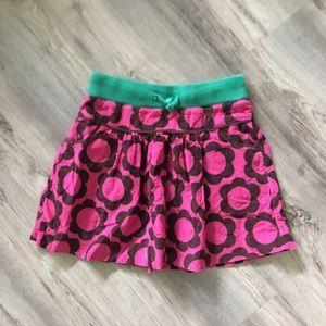 Mini Boden cord skirt